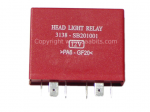 Saab 900 9000 headlamp relay