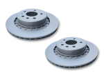 "Saab 9-5 Ventilated REAR brake disc 16"" (pair)"