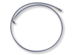 Saab 9-5 braided clutch hose RHD