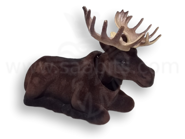 Nodding elk (dark) - Click Image to Close