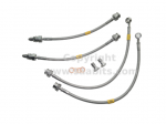Saab 900 Stainless Steel Braided Brake Hose Kit (early 1994)