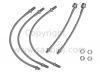 Classic Saab 900 Stainless Steel Braided Brake Hose Kit (ABS)