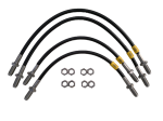 Saab 99 to '74 Stainless Braided Brake Hose Kit