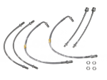 Saab 900 Brake Conversion Braided Brake Hose kit (non-ABS)