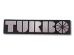 99 Turbo Bonnet badge