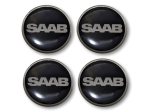 Saab Ronal/Inca wheel centre badge set of 4