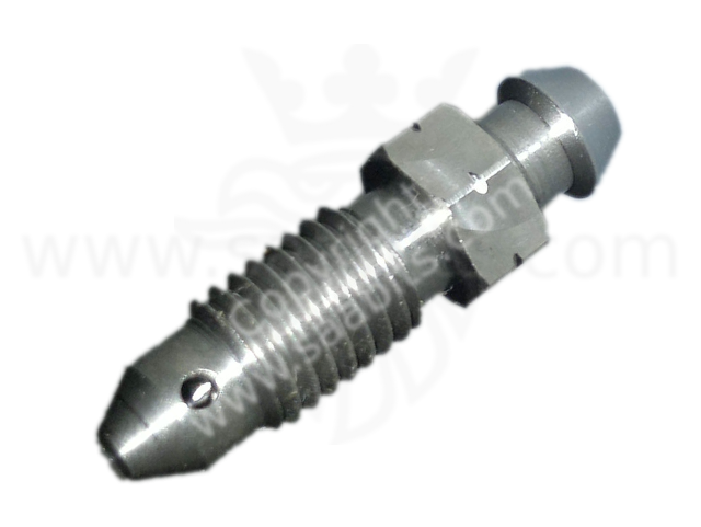 Saab 99 90 900 9000 stainless steel brake bleed screw M7 - Click Image to Close
