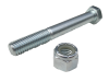 Saab 99 90 900 front lower spring seat bolt kit