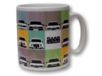 Saab Icons Cambridge Matt Mug