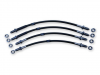 Saab 96 Sport/GT/MonteCarlo Stainless Braided Brake Hose Kit