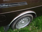 Saab 99 Wheel arch trim, chrome