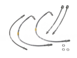 Saab 900 Brake Conversion Braided Brake Hose kit (ABS)