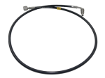 Saab 9000 braided clutch hose RHD